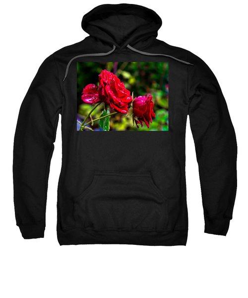 Wet Rose Sweatshirt