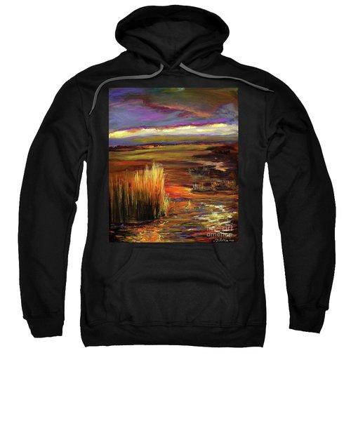 Wetlands Sunset Iv Sweatshirt