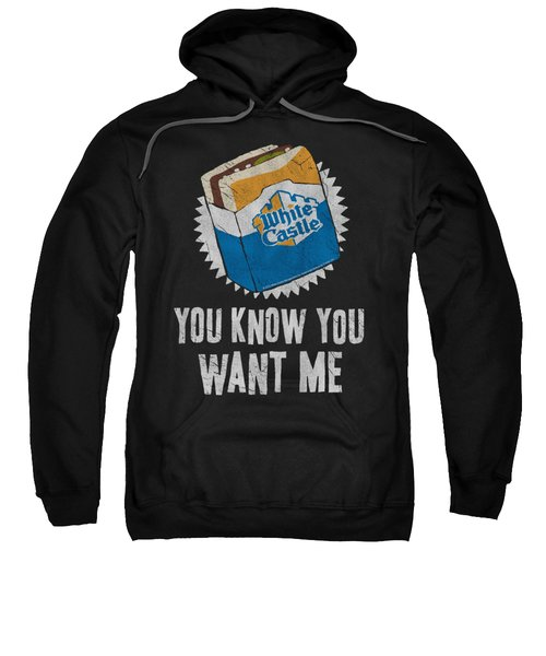 White Castle - Want Me Sweatshirt by Brand A
