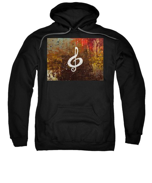 White Clef Sweatshirt