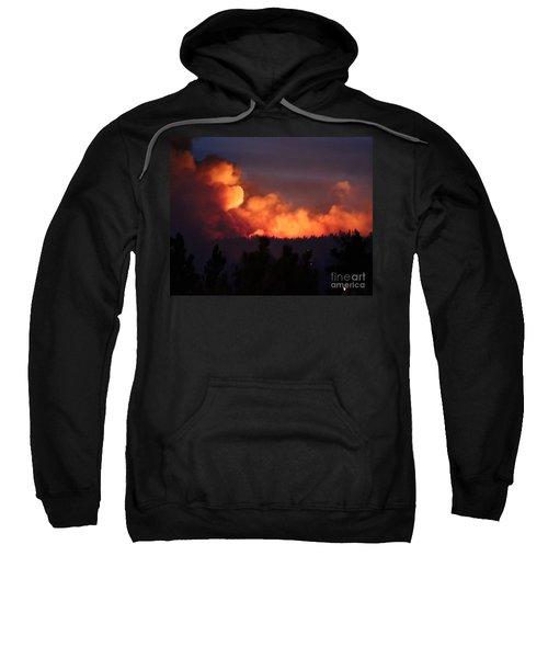 White Draw Fire First Night Sweatshirt