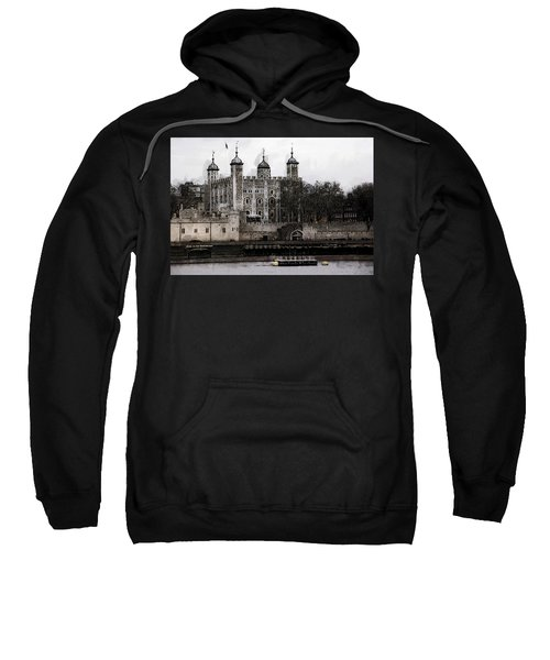 White Tower At Tower Of London Sweatshirt