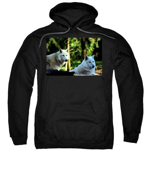 White Wolves Sweatshirt