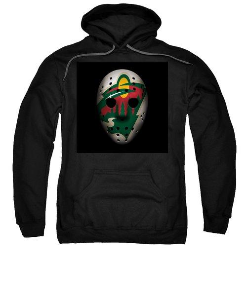 Wild Goalie Mask Sweatshirt