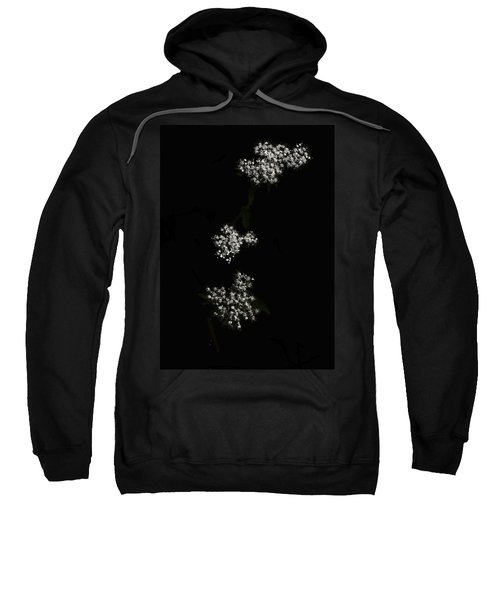 Wildflower In Black Sweatshirt