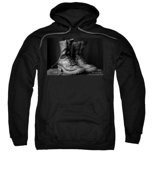 Wildland Fire Boots Still Life Sweatshirt