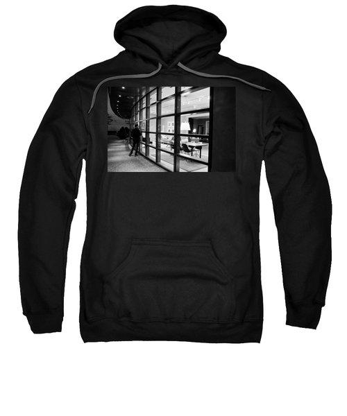 Window Shopping In The Dark Sweatshirt