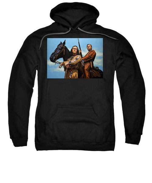 Winnetou And Old Shatterhand Sweatshirt