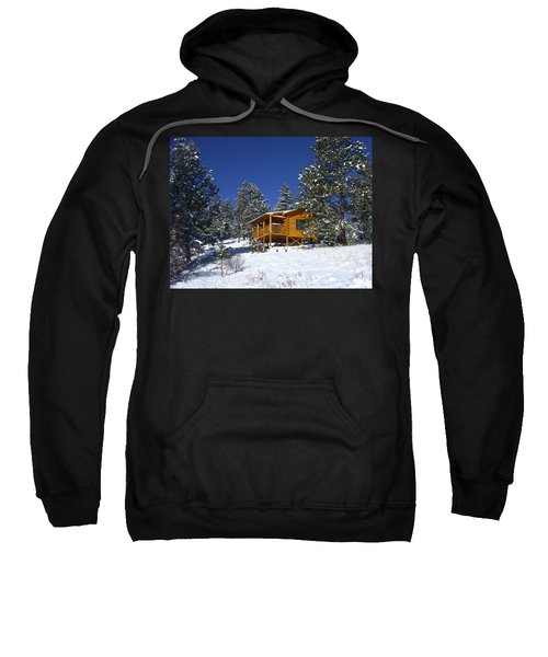 Winter Cabin Sweatshirt