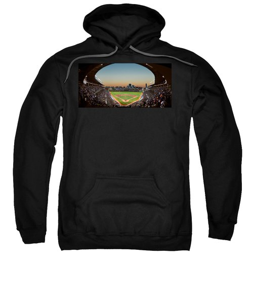 Wrigley Field Night Game Chicago Sweatshirt