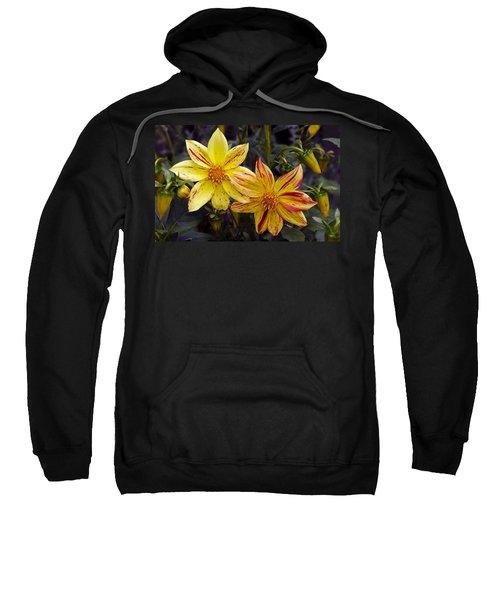 Yellow Dahlia Sweatshirt