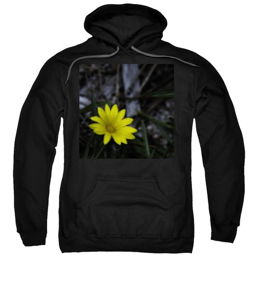 Yellow Flower Soft Focus Sweatshirt