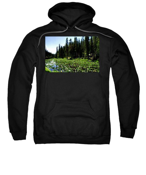 Yellowstone Lily Pads  Sweatshirt