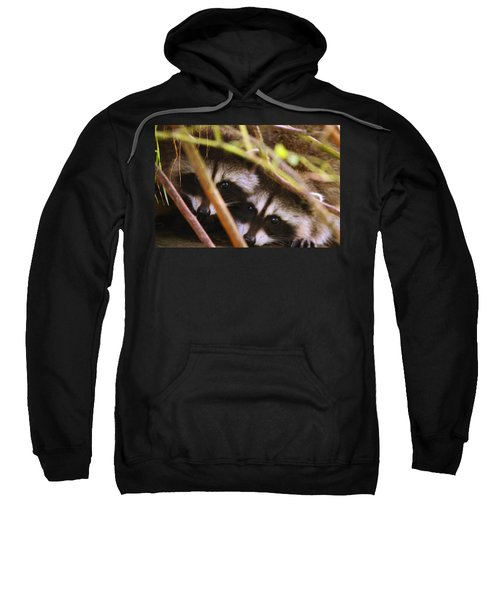 You Think She Can See Us? Sweatshirt