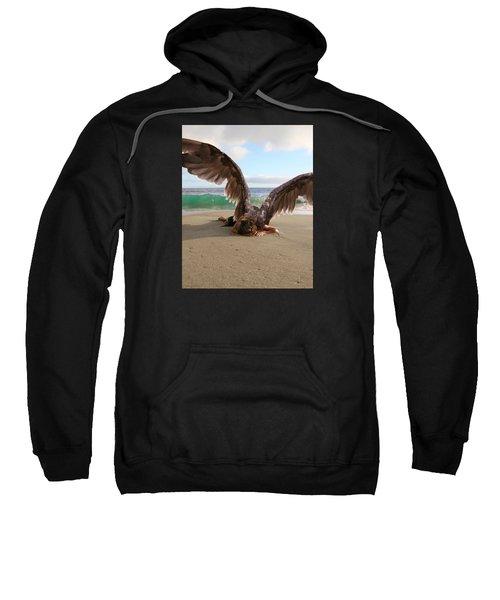 You Will Not All Sleep Sweatshirt