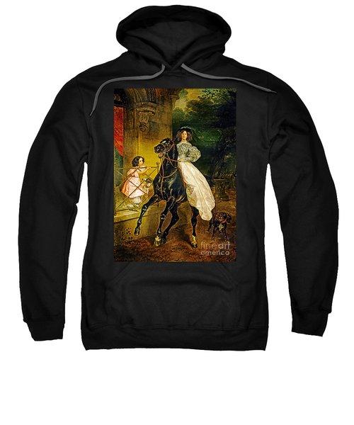 Young Horse Rider Sweatshirt