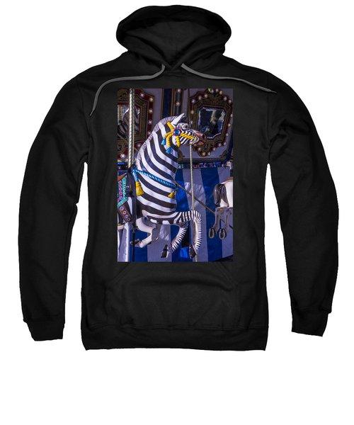 Zebra Merry-go-round Sweatshirt