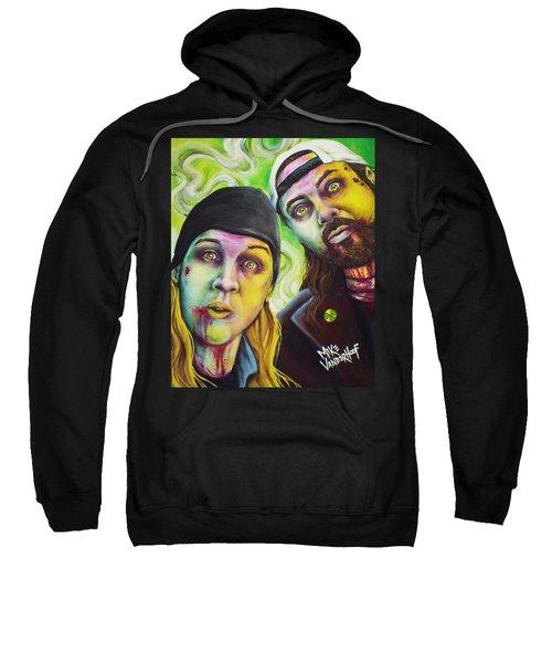 Zombie Jay And Silent Bob Sweatshirt