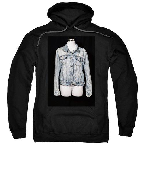 Denim Jacket Sweatshirt
