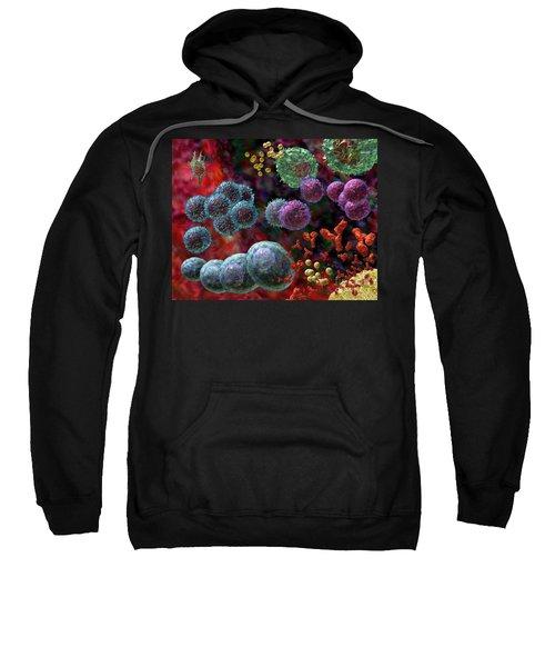 Immune Response Antibody 4 Sweatshirt