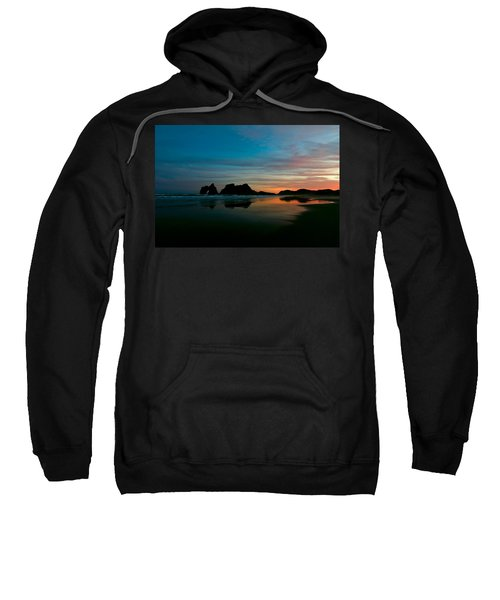 Golden Morning At A Beach  Sweatshirt