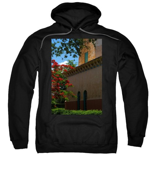 Alhambra Water Tower Windows And Door Sweatshirt