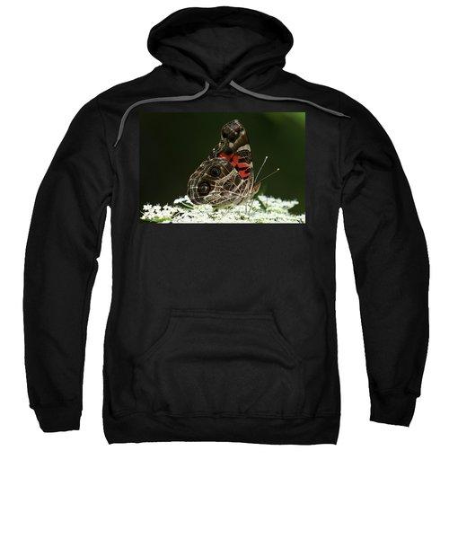 American Painted Lady Butterfly Sweatshirt