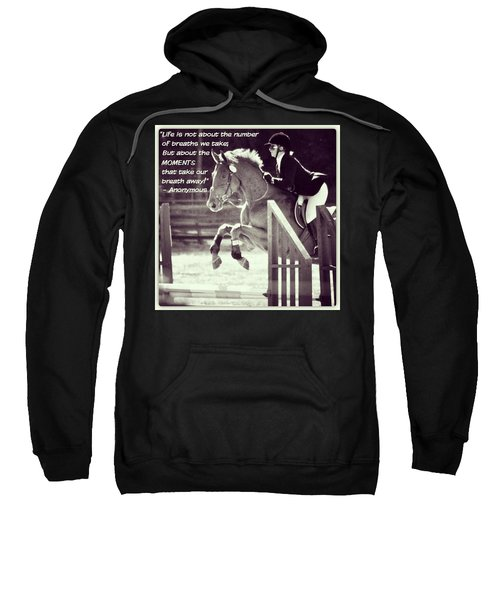 Andy And Chrissy Caber Farm Horse Sweatshirt