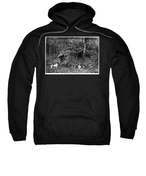Bird Shooting, 1886 Sweatshirt by Granger