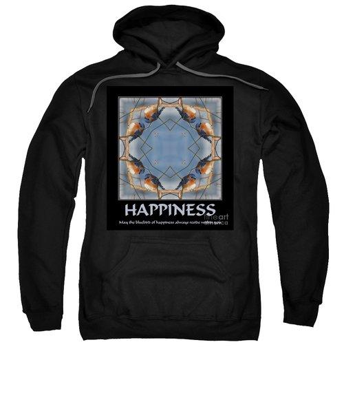 Bluebird Kaleidoscope Happiness Sweatshirt