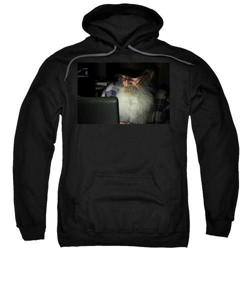 Burning The Midnight Oil Sweatshirt