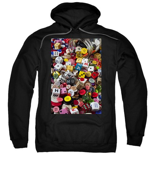 Buttons And Dice Sweatshirt