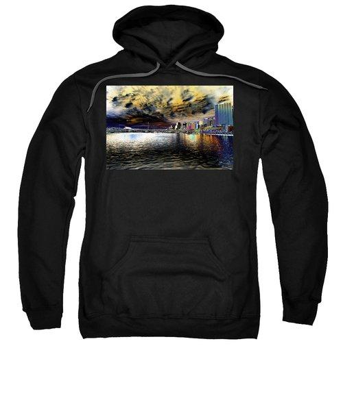 City Of Color Sweatshirt by Douglas Barnard