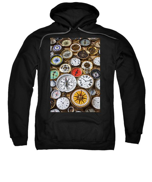 Compases And Pocket Watches  Sweatshirt