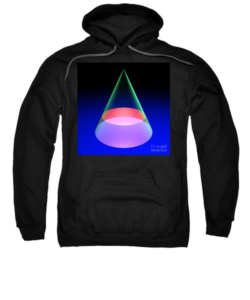 Conic Section Circle 6 Sweatshirt