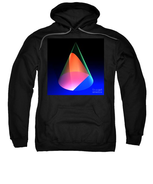 Conic Section Parabola 6 Sweatshirt