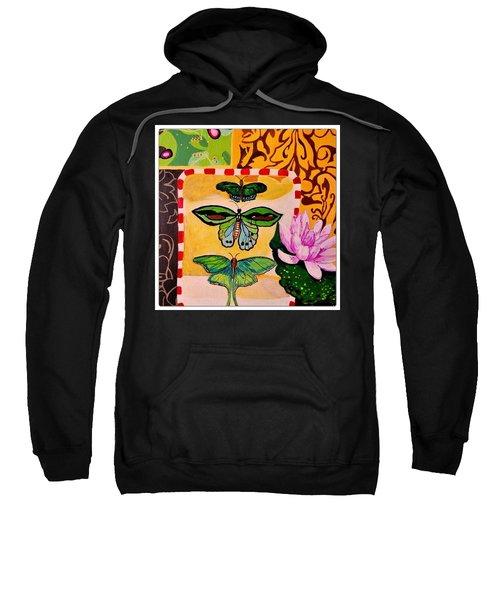 Oil Collage Sweatshirt