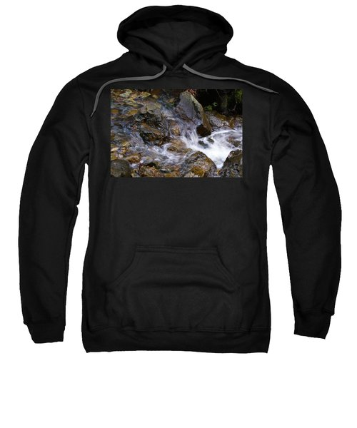 Creek Scene On Mt Tamalpais Sweatshirt