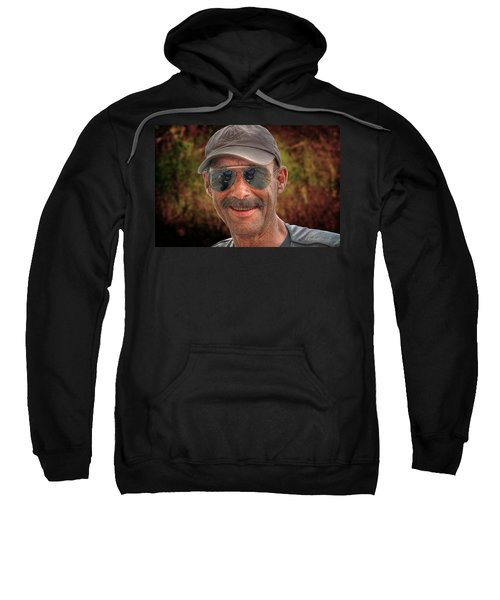 Dough-headed Photographer Can't Remember A Name Sweatshirt