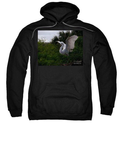 Egret Wings Sweatshirt