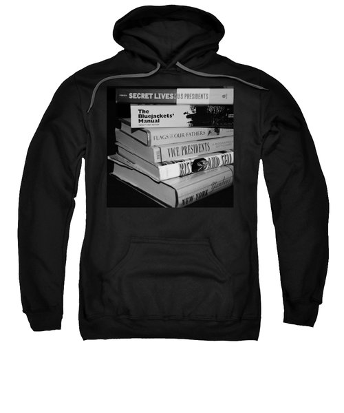 Fine Reading In Black And White Sweatshirt