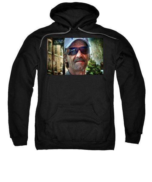 Five O'clock Shadow Sweatshirt