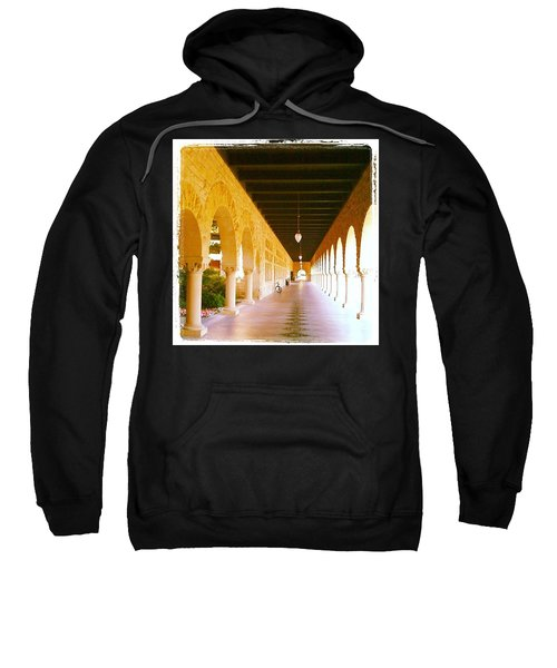 Halls Of Learning - Stanford University Sweatshirt by Anna Porter
