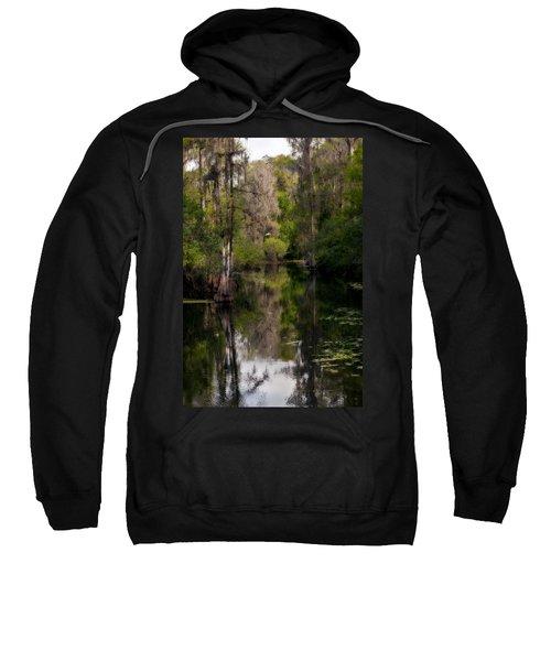 Hillsborough River In March Sweatshirt