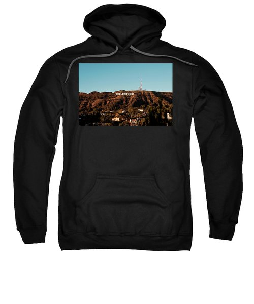 Hollywood Sign At Sunset Sweatshirt