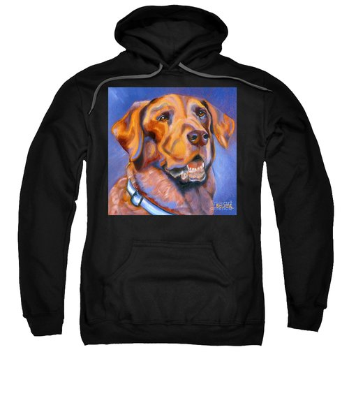 Hot Chocolate Lab Sweatshirt