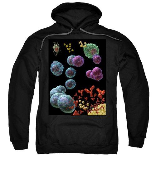 Immune Response Antibody 5 Sweatshirt