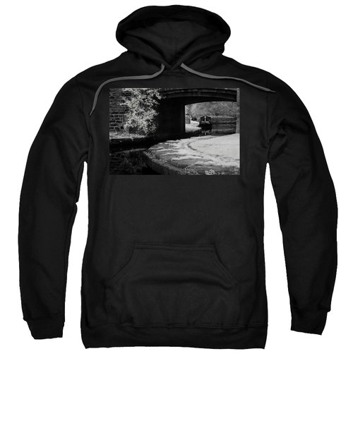 Infrared At Llangollen Canal Sweatshirt