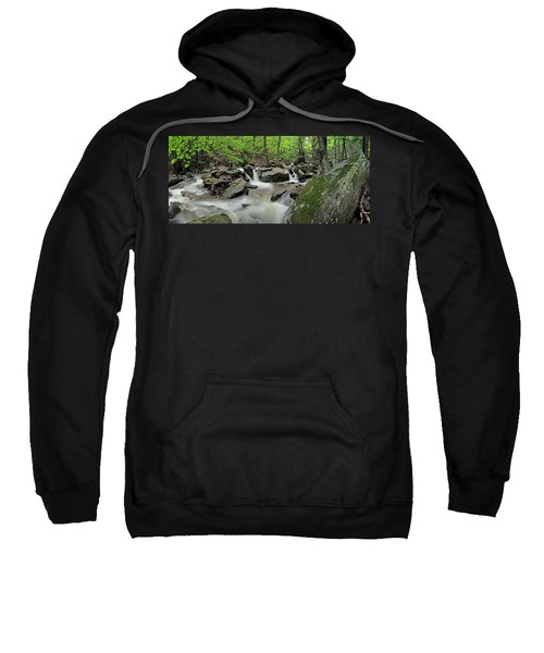Kaaterskill Creek Panorama Sweatshirt