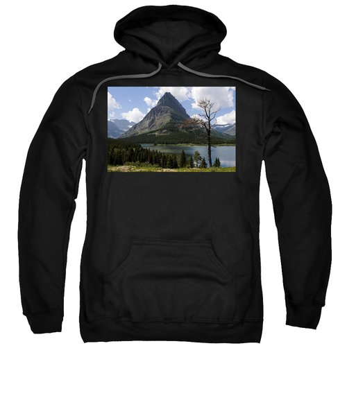 Lone Tree At Sinopah Mountain Sweatshirt